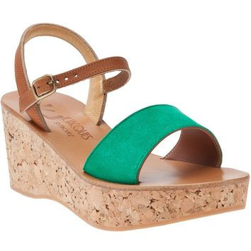 K. Jacques Josy Wedge Sandal