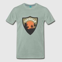 carribean island sunset by IM DESIGN CREATIVE | Spreadshirt