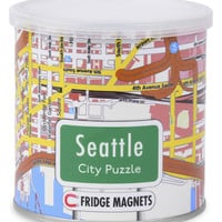 GeoToys Seattle Magnetic Fridge Magnet Puzzle