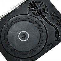 Black Notebook - Turntable