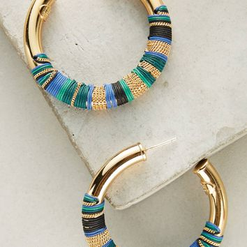 Acreole Hoop Earrings