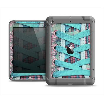 The Turquoise Laced Shoe Apple iPad Air LifeProof Fre Case Skin Set
