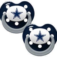 Dallas Cowboys Pacifier 2 Pack