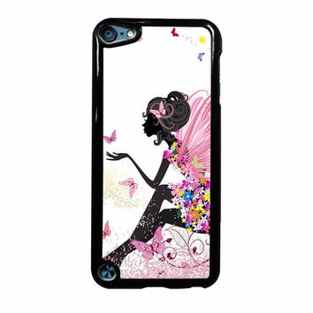 Romantic Buterfly Girl iPod Touch 5th Generation Case