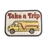 Take A Trip Homemade Iron-On Patch