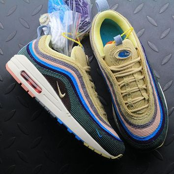 Sean Wotherspoon Nike Air Max 97 / 1 Hybrid AJ4219-400 Sport Running Shoes - Best Online Sale
