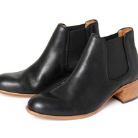 Bronte Black ($315.00) - Bronte is the reliable ladies chelsea boot that you can wear everyday, with a chunky rubberised heel there is no reason not to wear them. Bronte Black is made with a beautifully shined leather, with matching black elasticated panel