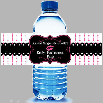 Shop Bachelorette Hangover Kits On Wanelo - Bachelorette water bottle label template