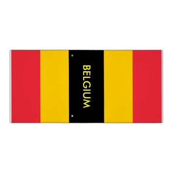 Binder with Flag of Belgium