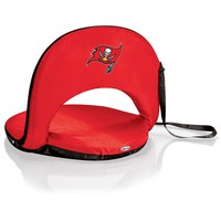 Tampa Bay Buccaneers - Oniva Portable Reclining Seat (Red)