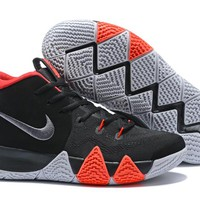 Nike Kyrie 4 EP Black/White/Red Basketball Shoe