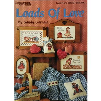 Loads of Love - Counted Cross Stitch Leaflet - Leisure Arts