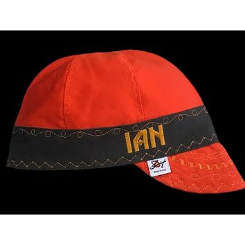 Choose your Embroidery 2-Tone Prewashed Canvas Welding Cap