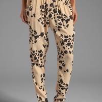 SAM&LAVI Locklyn Pants in Beige