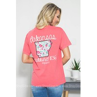 Arkansas Established 1836 Floral Top | Calamity Jane