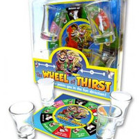 The Wheel Of Thirst Drinking Game