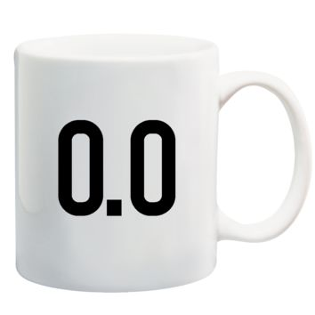 0.0 Miles I Hate Running Coffee Mug