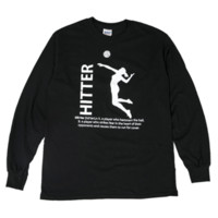 Hitter Long Sleeve :: 11.119.D70.LG :: Lucky Dog Volleyball