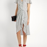 Mesilla ruffled cherry-print silk dress | Altuzarra | MATCHESFASHION.COM US