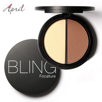 Bling Focallure Shimmer Bronzers and Highlighters Powder Makeup Concealer Highlighter for Face Stick Palette Make Up Contour