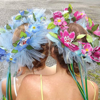 Custom Made Flower Headband on Luulla