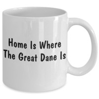 Great Dane's Home - 11oz Mug