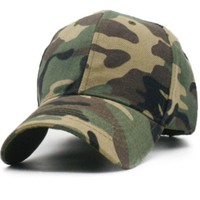 Vintage Wash Camo Dad Hat