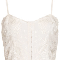 Embroidered Bralet - Tops - Clothing - Topshop USA