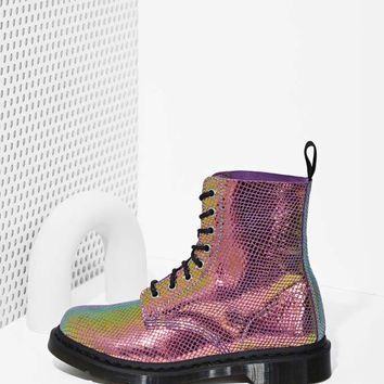 Doc Martens Pascal 8-Tie Boot - Iridescent