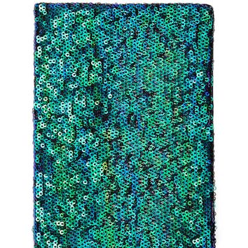 Sequin Blank Notebook