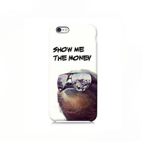 Gangster Sloth iPhone case, iPhone 6 case, iPhone 6 Plus Case, iPhone 4s case, iPhone 5 case iPhone 5s case 5c case, Galaxy S6 case, LG G3
