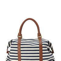 Seaside Canvas Carryall