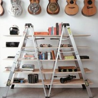 Ladder book stand