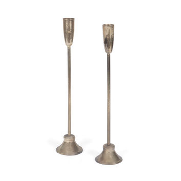 James Brass Candlesticks