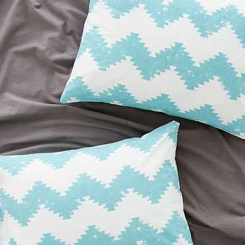 Magical Thinking Geo Chevron Sham