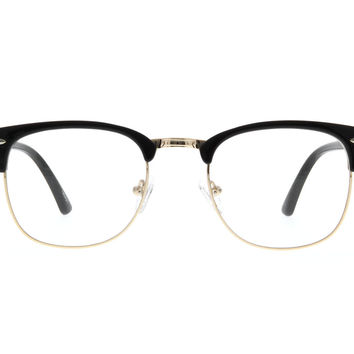 Black Browline Glasses #195421 | Zenni Optical Eyeglasses