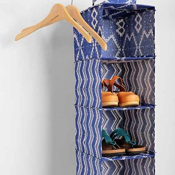 Magical Thinking Geo-Stripe Hanging Shoe Shelf- Blue One