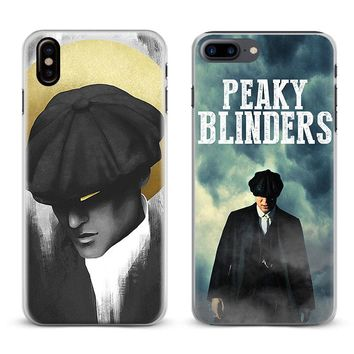 Peaky Blinders Logo Coque Phone Case Cover Shell For Apple iPhone X 8Plus 8 7Plus 7 6sPlus 6s 6Plus 6 5 5S SE