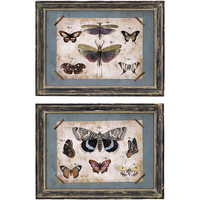 Set of 2 Americana Natures Friends Butterfly Wall Displays | Overstock.com