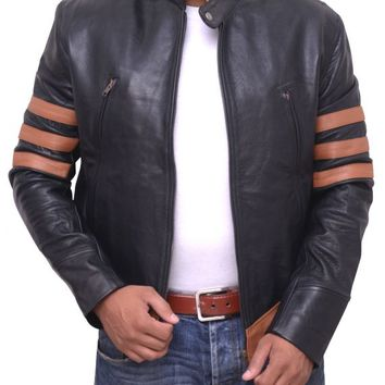 Hugh Jackman X-Men Sequel Leather Jacket – In Style Jackets