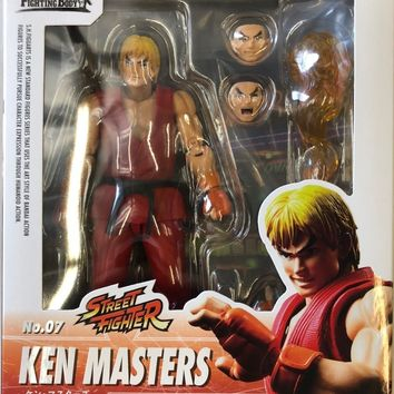 S.H.Figuarts Ken Masters Street Fighter Action Figure Bandai NEW IN STOCK USA