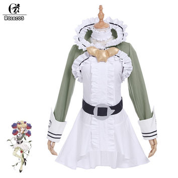 ROLECOS New Arrival Anime Mahou Shoujo Ikusei Keikaku Cosplay Costumes Mori no Ongakuka Cranberry Elf Outfits Cosplay Costumes