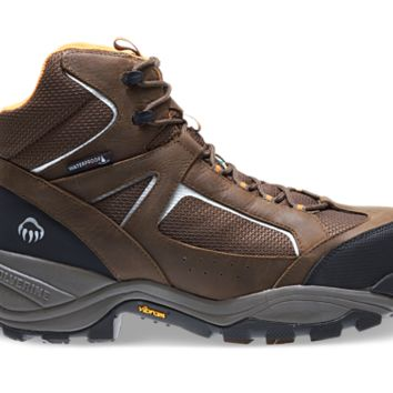 Wolverine QUEST PUNCTURE RESISTANT SAFETY TOE Brown Boots