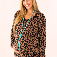 Lovin' Leopard Maternity Dress