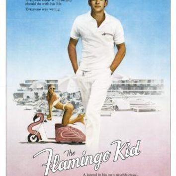 The Flamingo Kid Movie poster Metal Sign Wall Art 8in x 12in