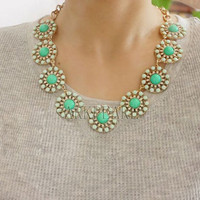 3 colors bubble necklace,beadwork necklace,Beaded Jewelry,bib necklace,statement necklace,pendant necklace with chain