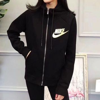 ESBON Nike Zip Up Hoodie Jacket Sweater Sweatshirts