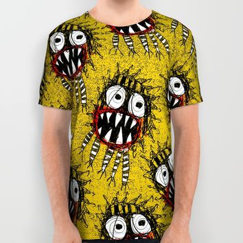 SPAWN OF MONSTER All Over Print Shirt by Matthew White
