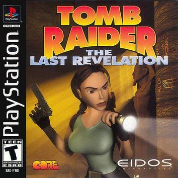 Tomb Raider: The Last Revelation  (Sony PlayStation 1, 1999) Complete