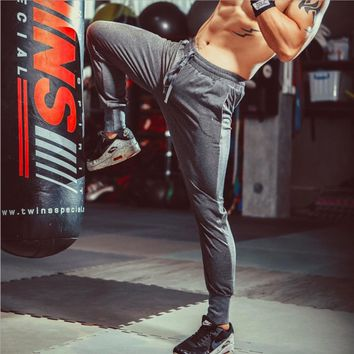 SY95015 Training Pants Men Sports Trousers Jogging Running Men Football Basketball Yoga Fitness Bottom Sportswear Black Grey
